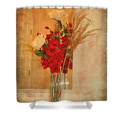 Shower Curtain featuring the photograph A Rose By Any Other Name by Kathy Baccari