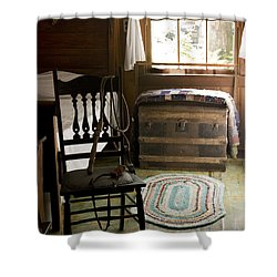 Shower Curtain featuring the photograph A Simpler Life by Lynn Palmer