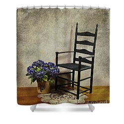 A Simpler Time Shower Curtain by Judi Bagwell