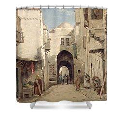 A Street In Jerusalem Shower Curtain