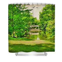 A Summer's Day Shower Curtain by Darren Fisher