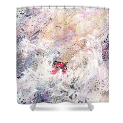 a Trial Shower Curtain by Rachel Christine Nowicki