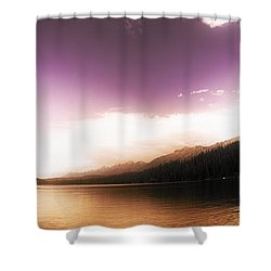 A Twist Of Fate Shower Curtain by Janie Johnson