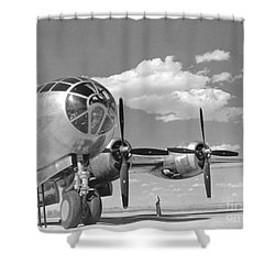 A U.s. Army Air Forces B-29 Shower Curtain by Stocktrek Images