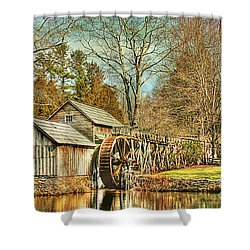 A Winters Day  Shower Curtain by Darren Fisher