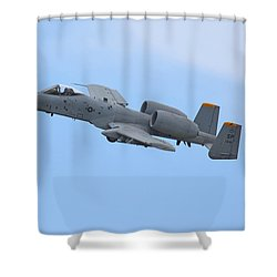 A10 Warthog Shower Curtain