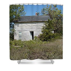 Shower Curtain featuring the photograph Abandoned by Bonfire Photography