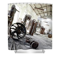 Abandoned Factory Shower Curtain by Carlos Caetano