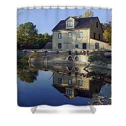 Abbotts Mill Shower Curtain by Brian Wallace