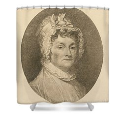 Abigail Adams Shower Curtain by Photo Researchers