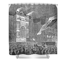 Abolition Of Slavery, 1864 Shower Curtain by Granger