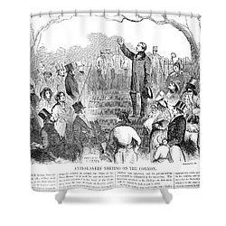 Abolition: Phillips, 1851 Shower Curtain by Granger