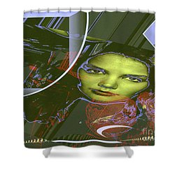 About Art Streetart Shower Curtain