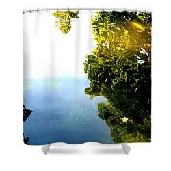Above The Water Shower Curtain