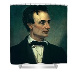 Abraham Lincoln, 16th American President Shower Curtain by Photo Researchers, Inc.