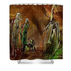 Abs 0191 Shower Curtain