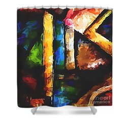 Abs 0266 Shower Curtain