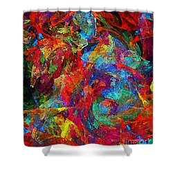 Abs 0321 Shower Curtain