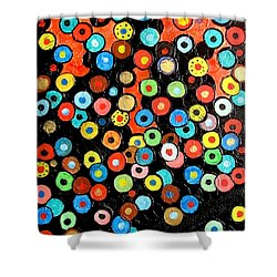 Abs 0462 Shower Curtain