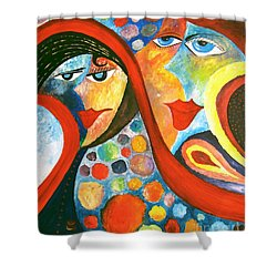 Abs 0470 Shower Curtain
