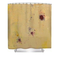 Abstract - Evolution Shower Curtain by Kathleen Grace