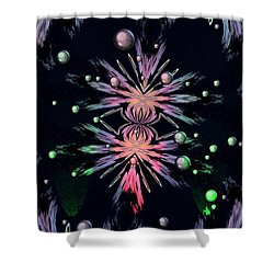 Abstract 014 Shower Curtain by Maria Urso
