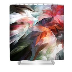 Abstract 062612 Shower Curtain by David Lane