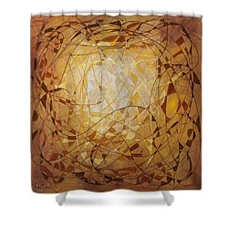 Abstract Art Eleven Shower Curtain
