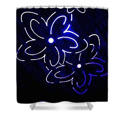 Abstract Fusion 106 Shower Curtain by Will Borden