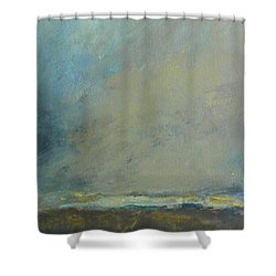 Abstract Landscape - Horizon Shower Curtain