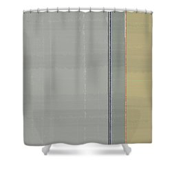 Abstract Light 4 Shower Curtain by Naxart Studio