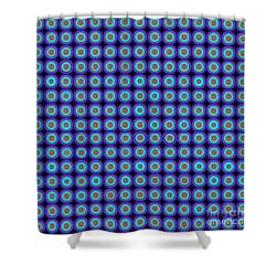 Abstract Print Shower Curtain