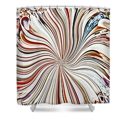 Abstract Seashells Shower Curtain by Aimee L Maher Photography and Art Visit ALMGallerydotcom