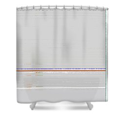 Abstract Surface 4 Shower Curtain by Naxart Studio