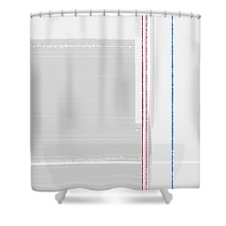 Abstract Surface Shower Curtain by Naxart Studio