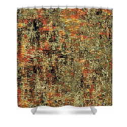 Artistic Confusion Shower Curtain