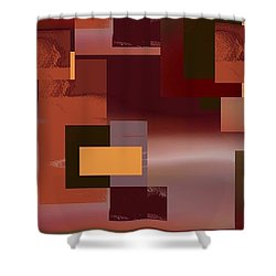 Abstract Tapestry 1 Shower Curtain