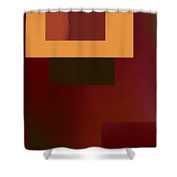 Abstract Tapestry 2 Shower Curtain