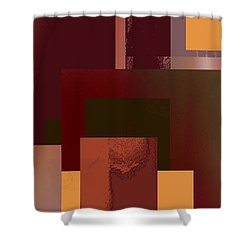 Abstract Tapestry 3 Shower Curtain