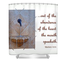 Shower Curtain featuring the photograph Abundance Of The Heart by Larry Bishop