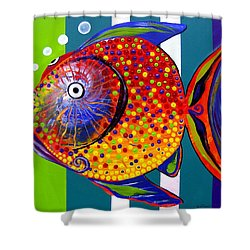 Acidfish 60 Shower Curtain