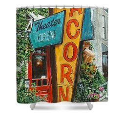 Acorn Theater Shower Curtain