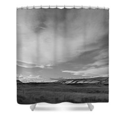 Shower Curtain featuring the photograph Across The Valley by Kathleen Grace