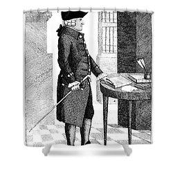 Adam Smith, Scottish Philosopher & Shower Curtain by Photo Researchers