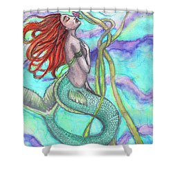 Adira The Mermaid Shower Curtain