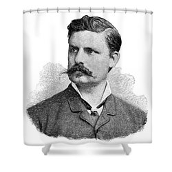Adolf Eugen Fick, German Physiologist Shower Curtain by Science Source