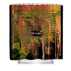 Shower Curtain featuring the photograph Adrift In Pastels by Susanne Still