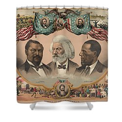 African Americans, C1881 Shower Curtain by Granger