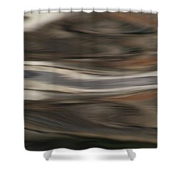 African Waters Shower Curtain