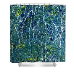 After Monet Shower Curtain by Dolores  Deal